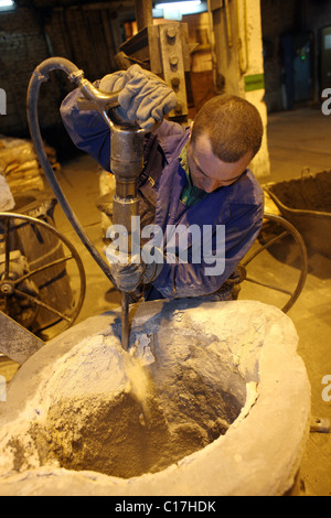Foundry in Ferrex Sp. z o.o., Poznan, Poland - Stock Photo