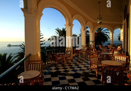 madeira funchal hotel reid 39 s palace hotel reid stock photo royalty free image 60889722 alamy. Black Bedroom Furniture Sets. Home Design Ideas