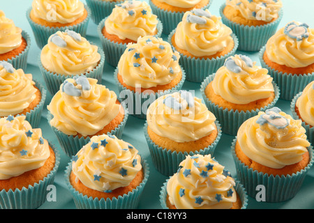 BABY SHOWER CUPCAKES - Stock Photo