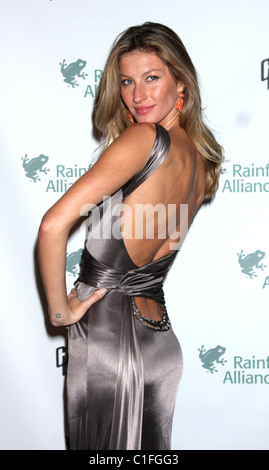 Gisele Bundchen Rainforest Alliance 2009 Annual Gala New York City, USA - 06.05.09 : - Stock Photo