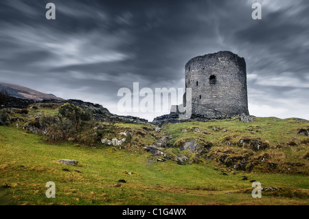 Dolbadarn castle - Stock Photo