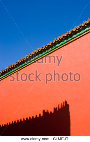 Forbidden City, Beijing, China - Stock Photo