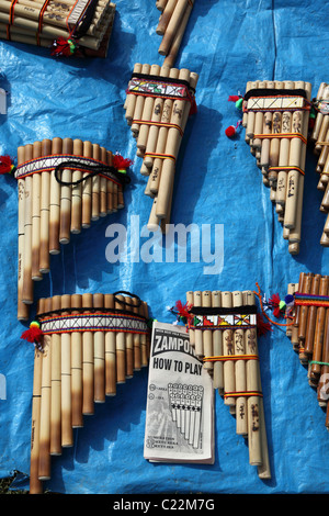 traditional andean music instruments for sale at a local market stock photo royalty free image. Black Bedroom Furniture Sets. Home Design Ideas