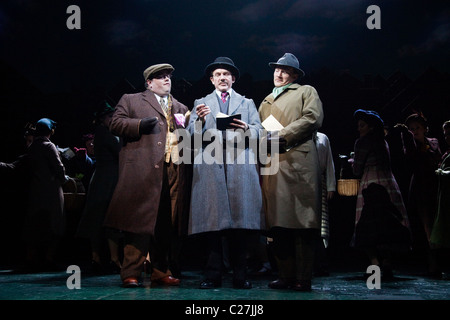 Musical comedy Betty Blue Eyes, based on the feature film 'A Private Function' showing at the Novello Theatre - Stock Photo