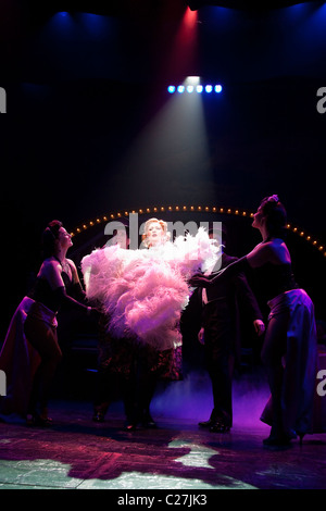 Musical comedy Betty Blue Eyes, based on the feature film 'A Private Function' showing at the Novello Theatre. Sarah - Stock Photo