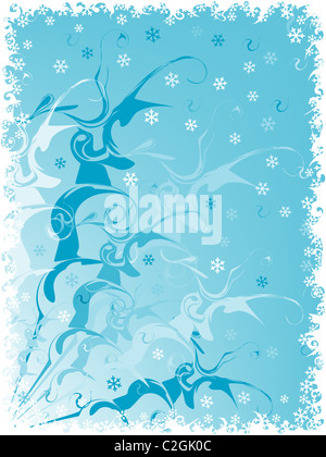 holiday backgrounds. christmas card. - Stock Photo