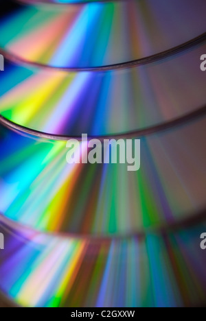 cd dvd disk. Close-up - Stock Photo