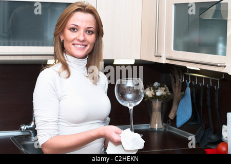 beautiful happy smiling woman in kitchen interior one person only c2hekn The value of a Sugardaddy Blog