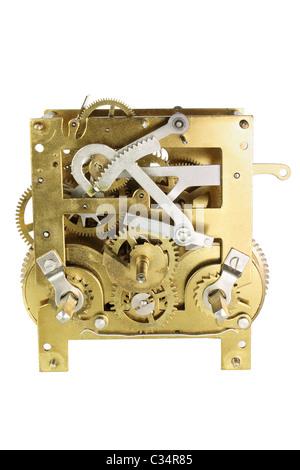 Clockwork Parts - Stock Photo