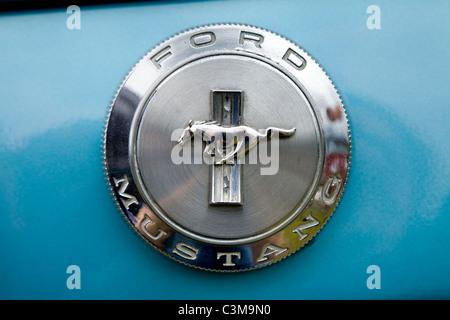 classic ford usa car badge radiator grille logo