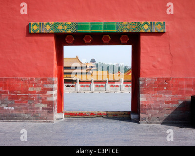 Inside the Forbidden City, Beijing - Stockfoto