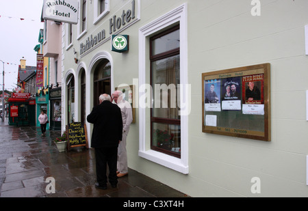 Rural Ireland - Lisdoonvarna - Stock Photo