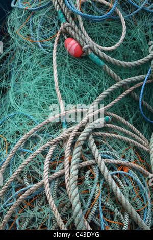 fishing fishnet - Stock Photo