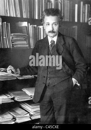 Albert Einstein, 1920 - Stockfoto
