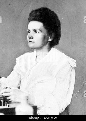 Marie Curie, 1906 - Stock Photo