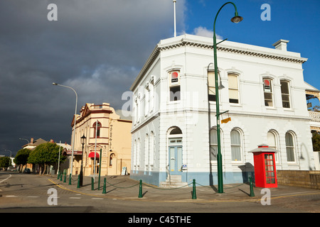 Heritage buildings - the London Hotel (1909) and Albany House (1878). Albany, Western Australia, Australia - Stock Photo