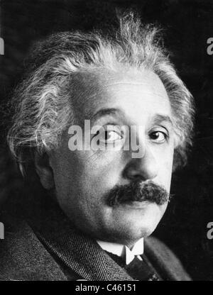Albert Einstein, 1929 - Stock Photo