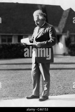 Albert Einstein, 1931 - Stock Photo