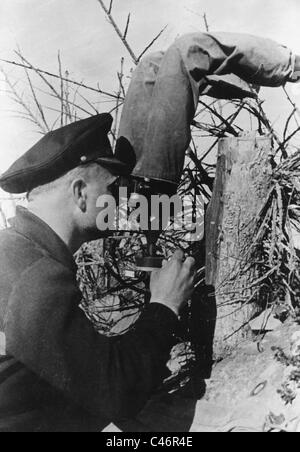 Second World War: German bridgehead at Kuban River, Taman Peninsula, 1943 - Stock Photo