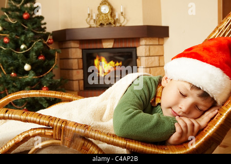 Little Boy Sleeping With Head In Father S Lap Stock Photo