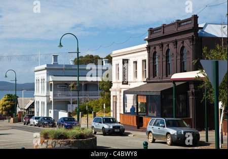 Colonial architecture on York Street. Albany, Western Australia, Australia - Stock Photo