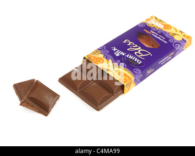 Cadburys Chocolate Two Glasses Milk