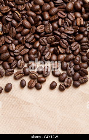 Coffee Beans for background - Stock Photo