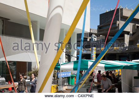 Royal Festival Hall Bandstand - Stock Photo