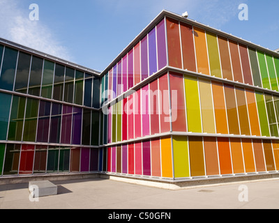 MUSAC museum, Leon, Castilla y Leon, Spain Stock Photo, Royalty Free Image: 4...