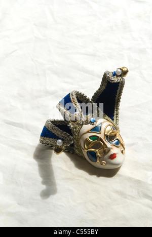 Old Venetian mask - Stock Photo