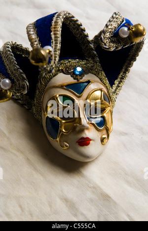 Vintage Venetian mask - Stock Photo