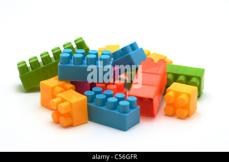 Lego building blocks stock photo royalty free image for Plastic building blocks home construction