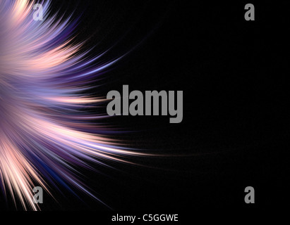 Abstract fractal artwork that makes a great high tech art element or background for any design project. - Stock Photo
