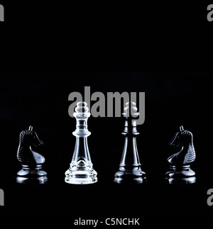 Chess pieces - Stock Photo