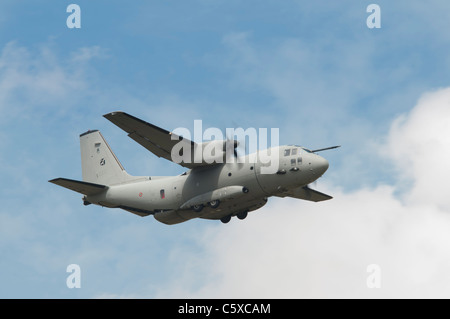 Alenia C-27J Spartan military transport aircraft of the Reparto Sperimentale Volo of the Italian Air Force from - Stock Photo
