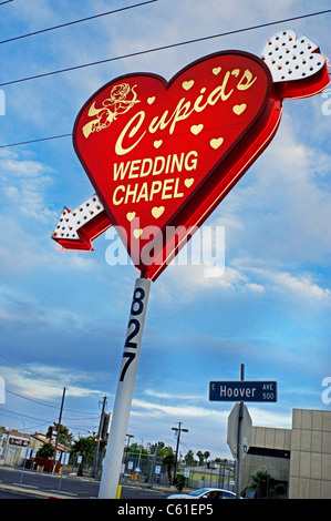 Wedding Chapel Cupids Las Vegas NV Nevada - Stockfoto