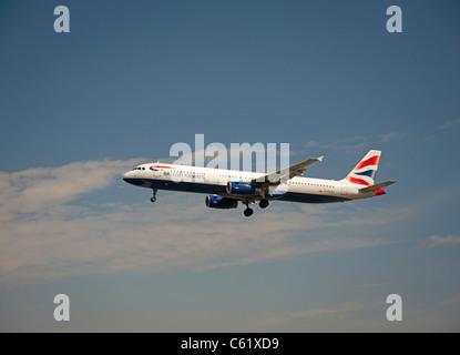 British Airways Airbus A321-231 Airliner  SCO 7554 - Stock Photo