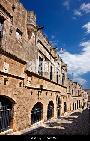 Medieval Cobblestone Street in the Fortified Walled ...