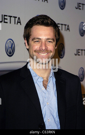David Sutcliffe poses for photographers, at the launch of the 2005 Volkswagen Jetta at The Lot, Los Angeles, CA - Stock Photo
