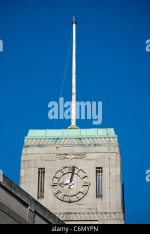 Clock Tower in the former British Military Hospital at ...