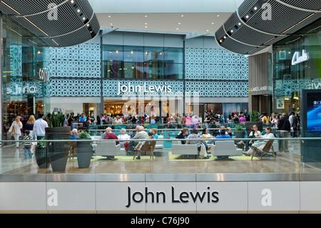 John Lewis Department Store Entrance Display Windows