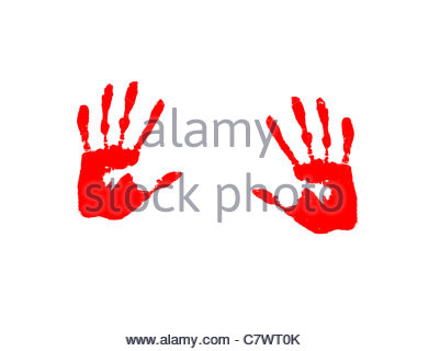 handprints - Stock Photo