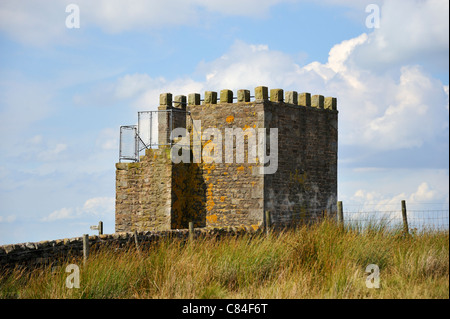 Jubillee Tower, Westfield House Farm, Abbeystead Fell, Lancashire, England, United Kingdom, Europe. - Stock Photo