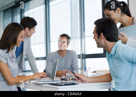 Business associates in meeting - Stock Photo