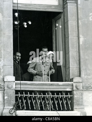 GAMAL ABDEL NASSER (1918-1970) second President of Egypt about 1951 - Stock Photo