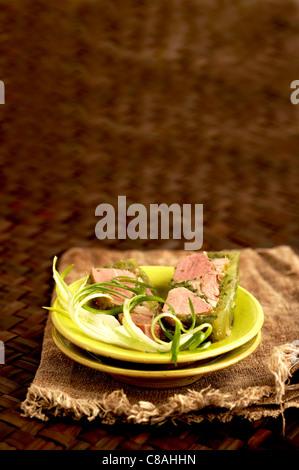 Parsley ham - Stock Photo