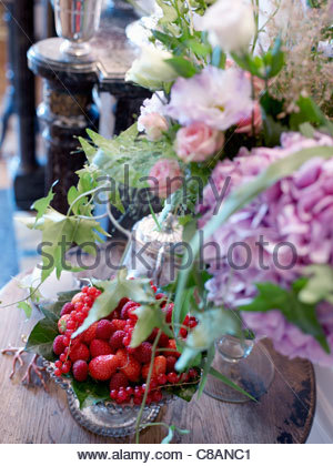 Flowery composition - Stock Photo