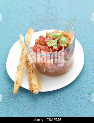 Tuna Tartare - Stock Photo