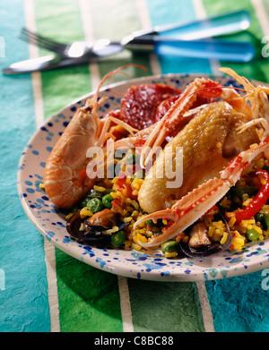 paella - Stock Photo