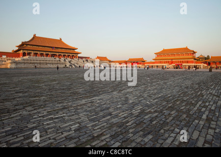 China, Beijing, Palace Museum or Forbidden City - Stock Photo